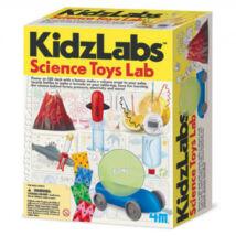Tudományos labor - kombinált kreatív készlet