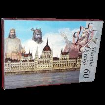 60 db-os Hunnia puzzle - Országház