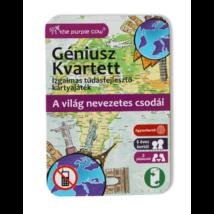 Géniusz Kvartett: A világ nevezetes csodái - ismeretterjesztő kártyák