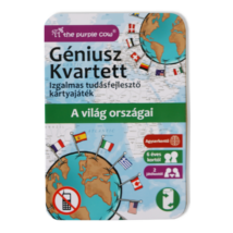 Géniusz Kvartett: A világ országai - ismeretterjesztő kártyák