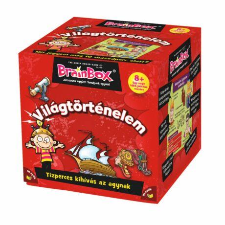 BrainBox Világtörténelem társasjáték