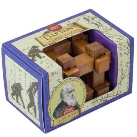 Nagy Elmék - Newton Gravitáció Professor Puzzle ördöglakat