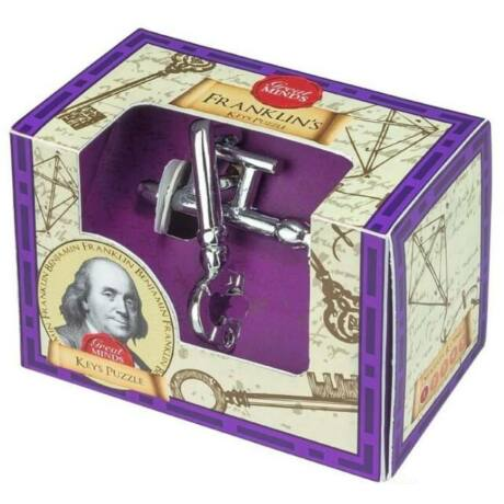Nagy Elmék - Franklin Kulcs Professor Puzzle ördöglakat