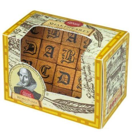 Nagy Elmék - Shakespeare Szavak Professor Puzzle ördöglakat
