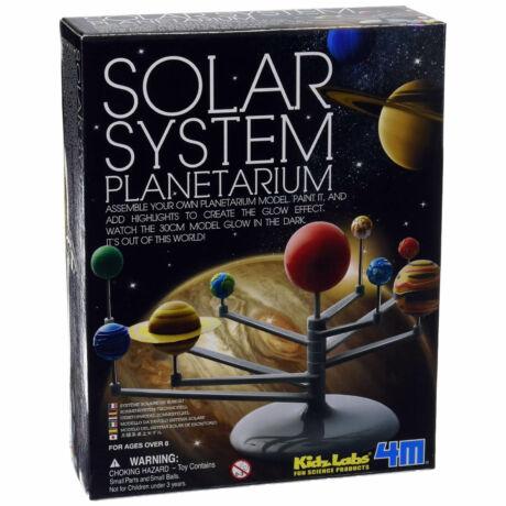Naprendszer planetárium készlet