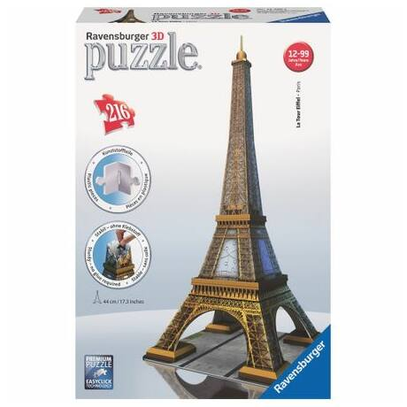 Eiffel-torony 216 darabos 3D puzzle