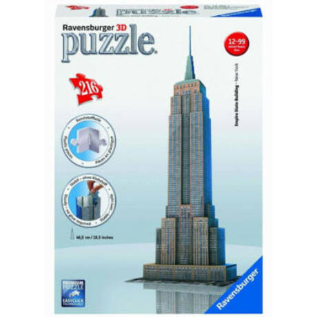 Empire State Building 216 darabos 3D puzzle