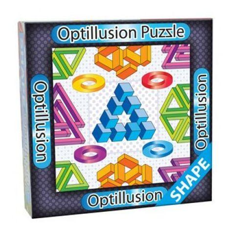 3D Optillusion Tile Puzzles Forma kirakó