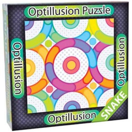 3D Optillusion Tile Puzzles Kígyó kirakó
