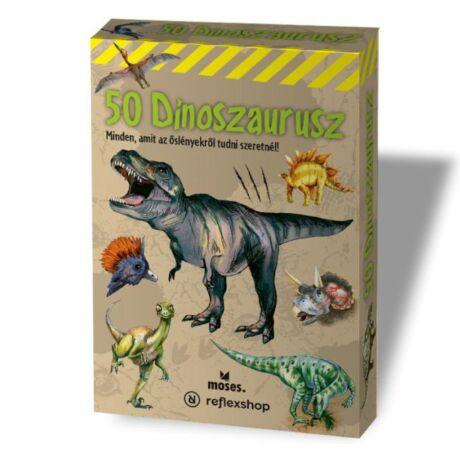 50 dinoszaurusz