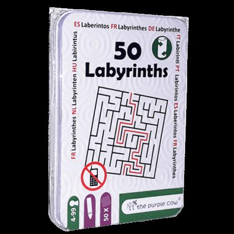PC 50 Labirintusok - foglalkoztató kártyák