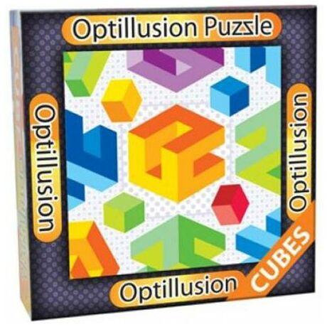 3D Optillusion Tile Puzzles Kockák kirakó