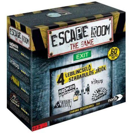 Escape Room - Szabaduló szoba (4 játék)