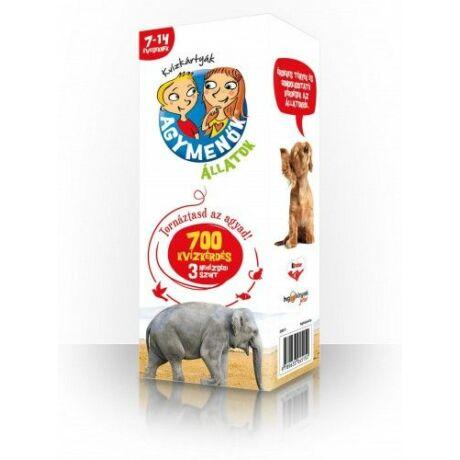 Agymenők kvízkártyák - Állatok