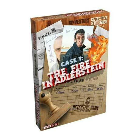 Detective Stories: Case 1 - The Fire in Adlerstein