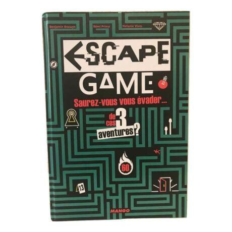 Escape game - 3 aventures