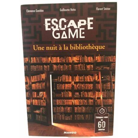 Escape game - Une nuit á la bibliothéque