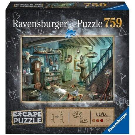 Exit puzzle - Zárt pince