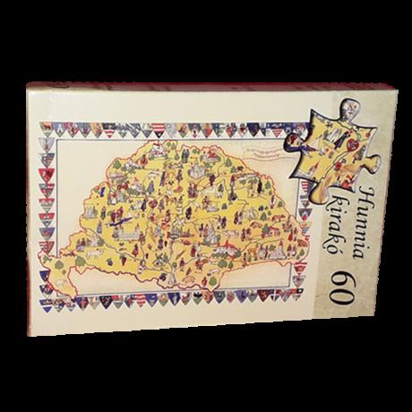 60 db-os Hunnia puzzle - Nagy-Magyarország