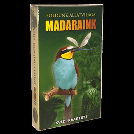 Madaraink (Ismeretterjesztő Kártya)