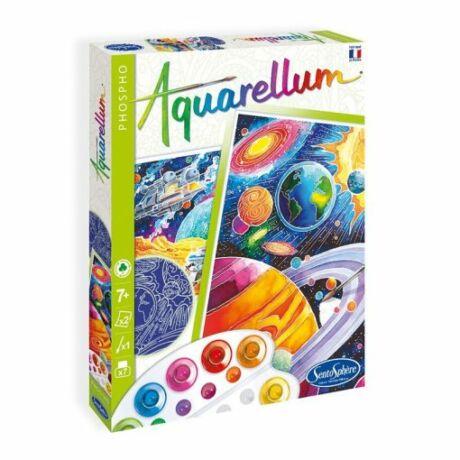 Aquarellum kozmosz foszforeszkáló, nagy
