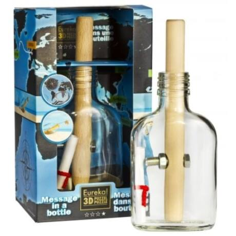 Bottle puzzle - Message in a bottle***