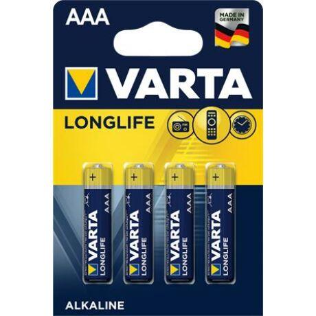 Elem AAA mikro LR03 Longlife Varta 4 db/csomag