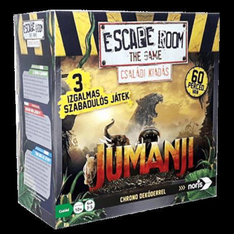 Escape Room Jumanji - 3 játékkal