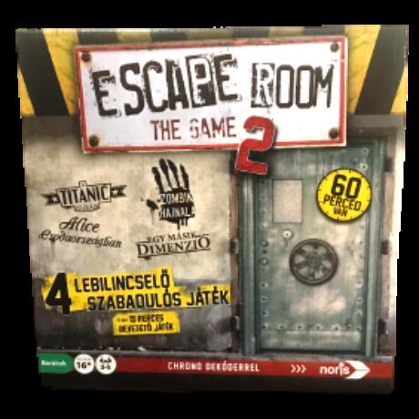 Escape Room - The Game 2.0 szabadulós társasjáték