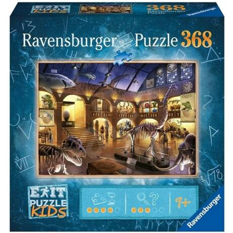 Exit Puzzle 368 db-os - Éjszaka a múzeumban