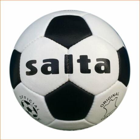 Futball labda, bőr, 5-ös méret - Salta