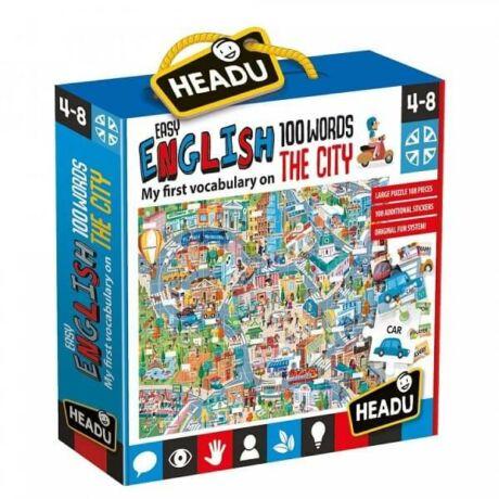 Könnyen angolul - Város puzzle