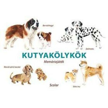 Kutyakölykök - memóriajáték