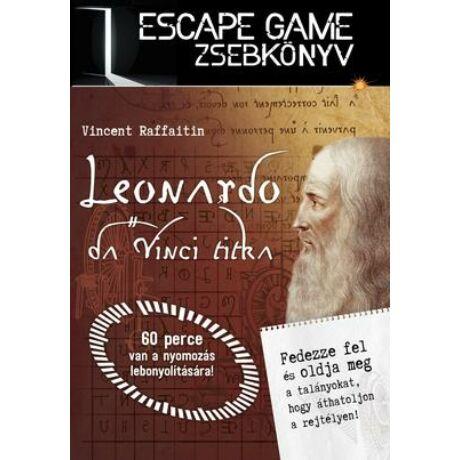 Leonardo da Vinci titka - Escape Game zsebkönyv