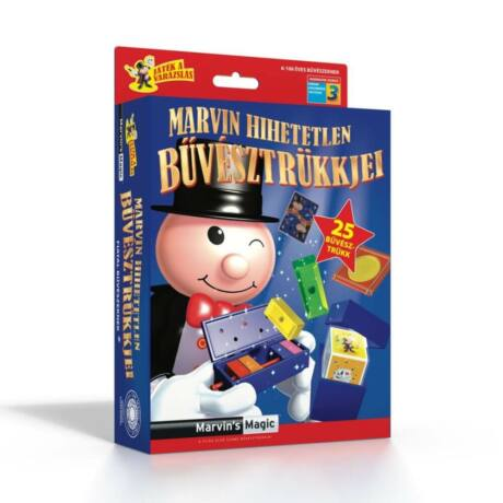 Marvin's Magic varázslatos bűvész szett 3.