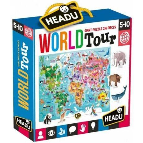 Óriás puzzle - világkörüli út