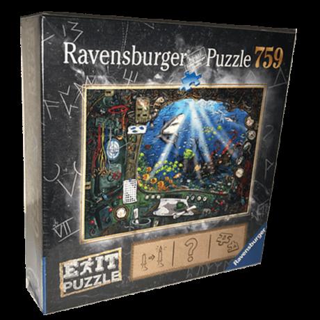 Exit puzzle 759 db-os - Tengeralattjáró