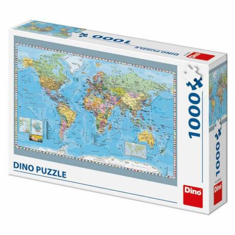 Puzzle 1000 db-os - Politikai világtérkép