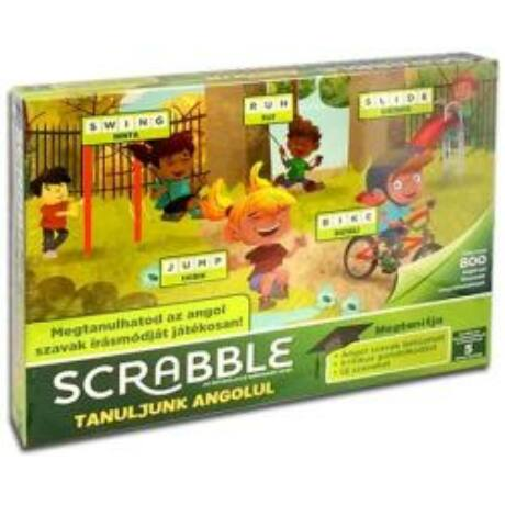 Scrabble - Tanuljunk angolul!