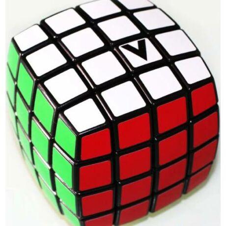 V-Cube versenykocka 4x4, fekete alapszín, lekerekített