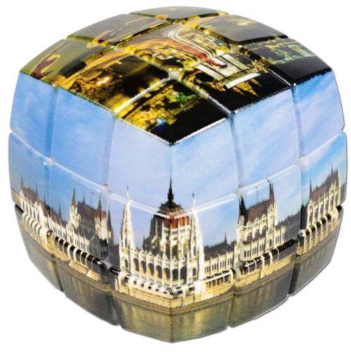 V-Cube versenykocka 3x3 - lekerekített, Hungary minta